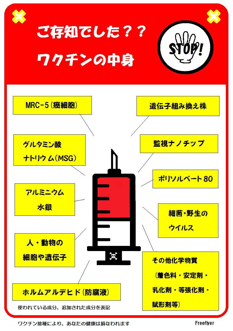 新型●クチンの中身です。